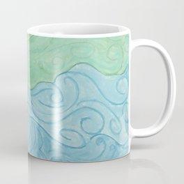 Higher Self Curly Rainbow Hair Coffee Mug