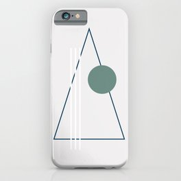 Merry Minimal 01 iPhone Case