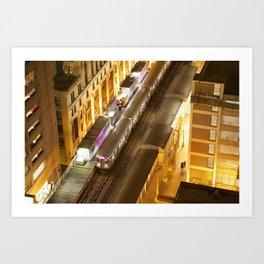 Late Night Commute Art Print