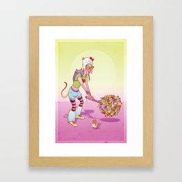 Modern Warrior 1 Framed Art Print