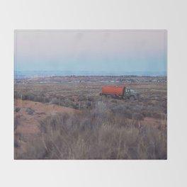 Pastel Sunsets in the Desert, Plus Truck Throw Blanket