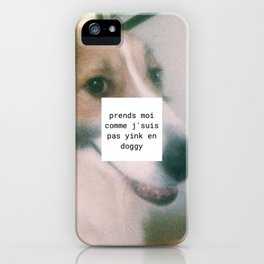 Maddie Dog iPhone Case