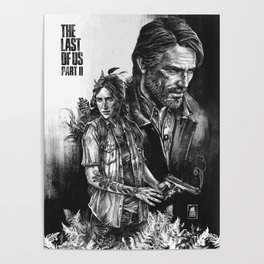 The Last Of Us Part II - Ellie and Joel Poster