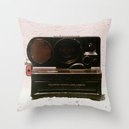 Pronto One Step Sonar, 1978 Throw Pillow