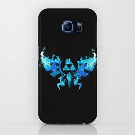 Zelda in Blue Fire iPhone Case