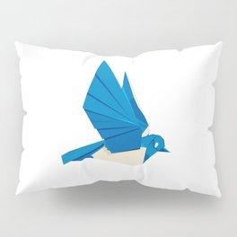 Origami Bluebird Pillow Sham