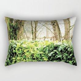 Winter Hedge Rectangular Pillow