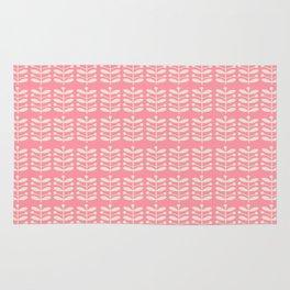 Pink Stems Pyrex Rug