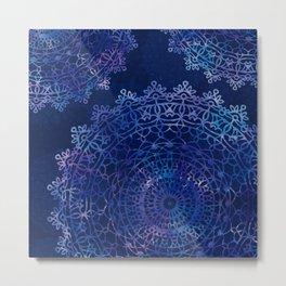 Cosmic Mandalas Metal Print