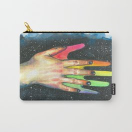 Hand study #5. Finding rainbow Carry-All Pouch