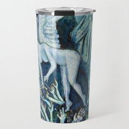 Statue of Liberty Underwater Travel Mug