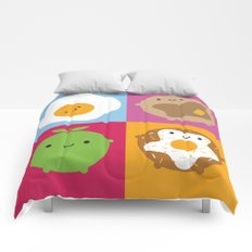 Kawaii Breakfast Comforters