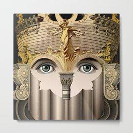 Architectural gaze Metal Print