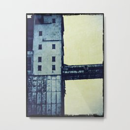 Old factory Montreal Metal Print