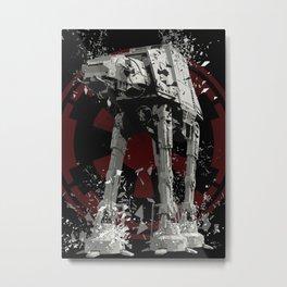 AT-AT (Imperial Walker) Metal Print