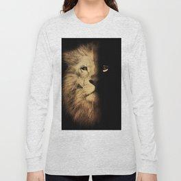 Animal tee vintage graphic design Long Sleeve T-shirt