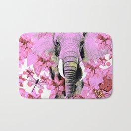 ELEPHANT PINK Bath Mat