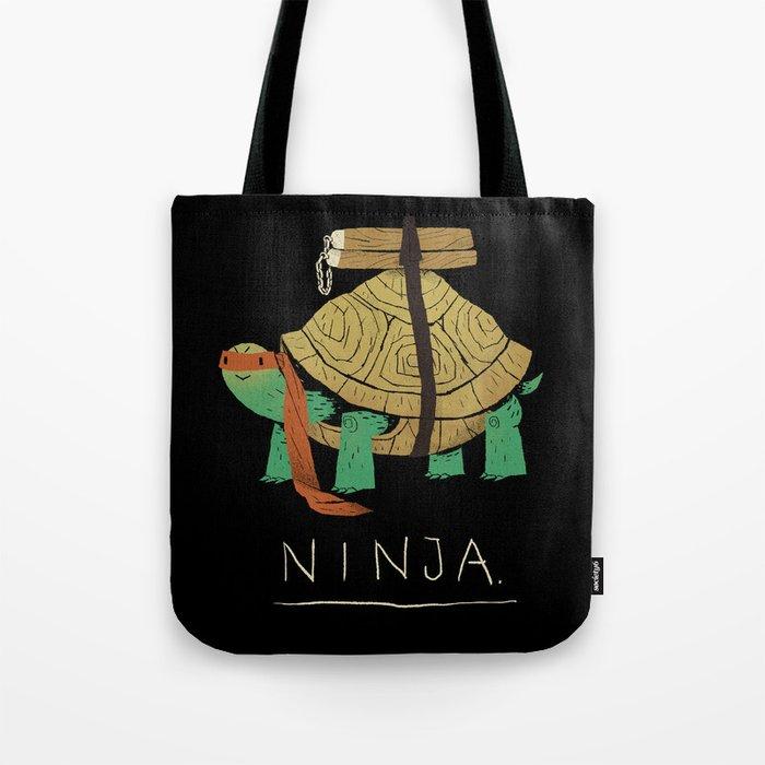 ninja - orange Tote Bag