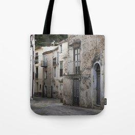 Sicilian Alley in Caltabellotta Tote Bag