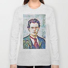 Gustav Mahler (1860 – 1911) Long Sleeve T-shirt