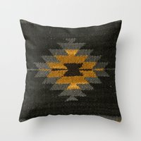 kilim Throw Pillows featuring wool kilim by Storm + Stress