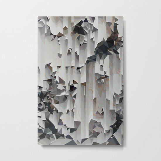 Vector Mountains, 2015 Metal Print