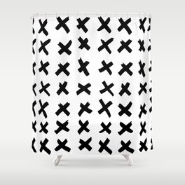 _ X X X Shower Curtain