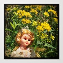 Princess Goldenrod Canvas Print