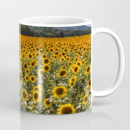 Sunflower Fields Of Dreams Coffee Mug