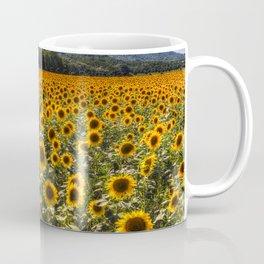 Sunflower Fields Of Dreams Coffee Mug