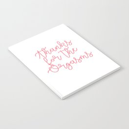 Thanks for the Orgasms Notebook
