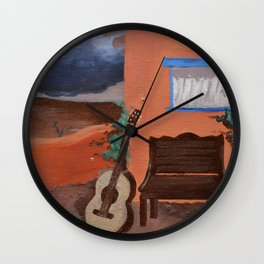Sol y Cerveza Wall Clock
