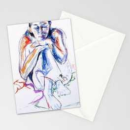 Lena Drawing II Stationery Cards