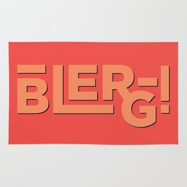 Blerg! An Ode to 30 Rock Rug