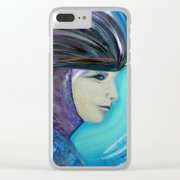 SHE Warrior Clear iPhone Case