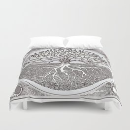 Tree of Life as above so below Duvet Cover