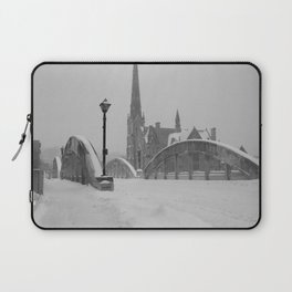 Winter Bridge Laptop Sleeve
