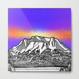Zugspitze Germany Mountain Metal Print