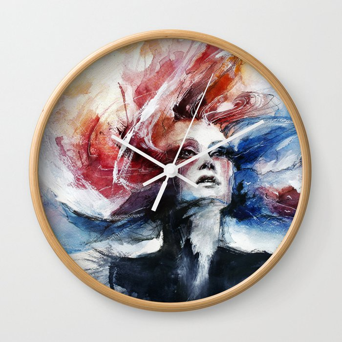 Antimonocromatismo II Wall Clock