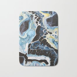 Marine 2 -- Abstract Painting Bath Mat
