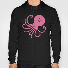 Octopus Selfie at Night Hoody