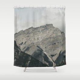 Downtown Banff Shower Curtain