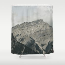 Downtown Banff Shower Curtain