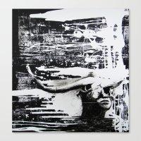 carmilla Canvas Prints featuring Carmilla by Sandra Boskamp