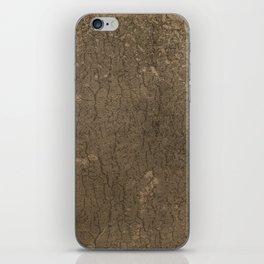 Rustic Tree Bark Pattern iPhone Skin