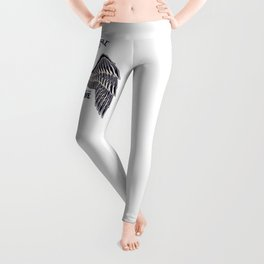 Spark PLug Motorcycle supply company Leggings