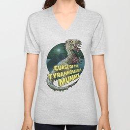 Curse of the Tyrannosaurus Mummy Unisex V-Neck