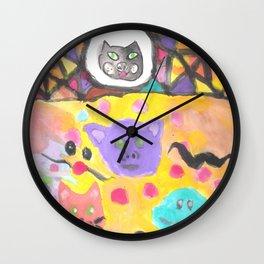 Animal Carnival Wall Clock