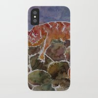 lizard iPhone & iPod Cases featuring lizard by rysunki-malunki