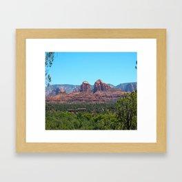 Sedona Red Rocks Framed Art Print